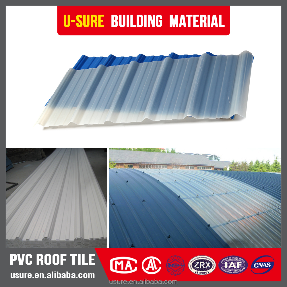 Transparent pvc flexible clear plastic roofing sheet buy for Flexible roofing material