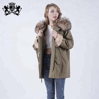 China Manufacture Best Selling Good Quality Overcoat New Style Parka For Women