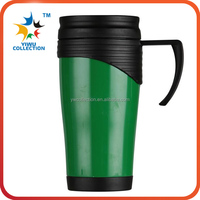 Newest!! Travel Tumbler Mug double wall plastic Car Cup 450ml/16 oz Auto Mug