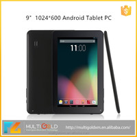 9 inch Android Tablet With ALLWinner A33 A83T Quad Core/ Octa Core CPU 1GB RAM WIFI Bluetooth Tablet PC