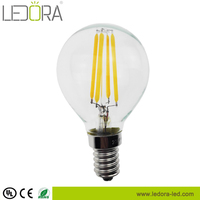 Buy high power chandelier led bulb warm white e12 2300K 2500k ...