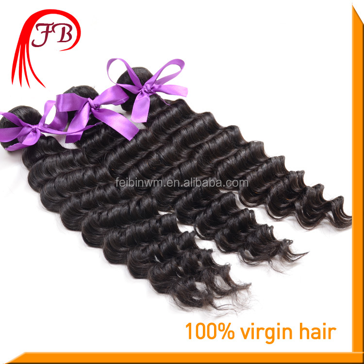 natural color brazilian deep wave hair different types of curly weave hair