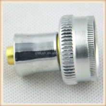 Washing machine hose connector fitting