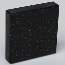 China High Quality PMMA black color pure acrylic solid surface for countertops