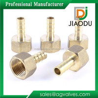1 inch Lead Free Brass Pipe Fittings Female Threaded Hose Nipples Hose Tails Hexagon Or Hex Long Nipples