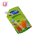 600ml Plastic Stand Up Packing Pouches For Detergent Packaging