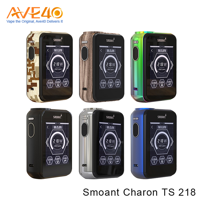 2017 Best Sell smoant charon 218w mod , Smoant charon TS 218 mod