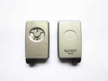 white 2 button car smart key shell for Toyota smart key