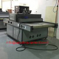 belt width 750mm vertical stainless steel photo crystal uv curing machine