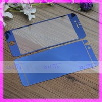 2016 mirror design popular front and back cover screen guard for phone