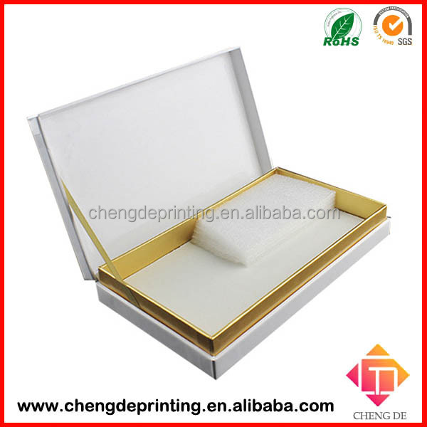 high-end Able to display Custom gift box for cosmetic