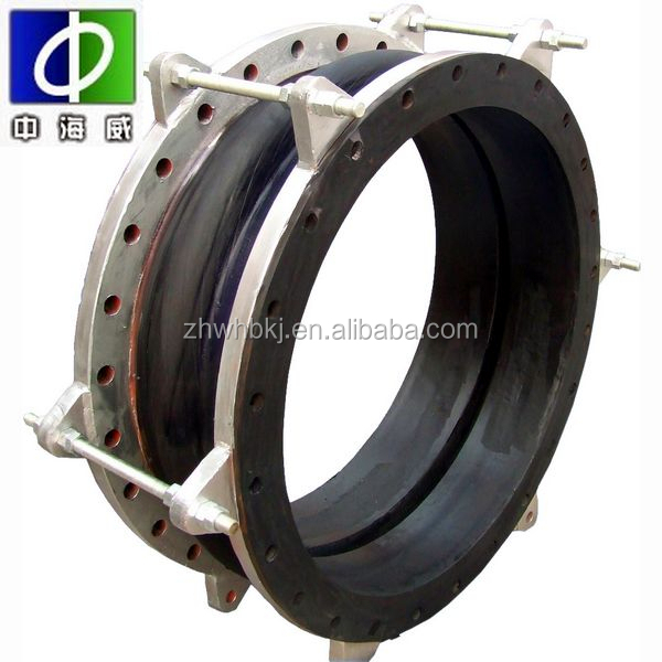 forging double sphere flanged rubber expansion joints