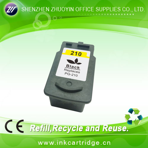 Best selling refillable ink cartridge for canon(PG-210XL;CL-211XL)