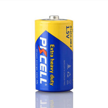 PKCELL 2017 Top Selling C Size r14 r14c um-2 1.5v Carbon Zinc Battery for Kids Electric Toys