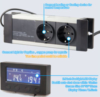 day and night sperately controll electronic aquarium temperature controller