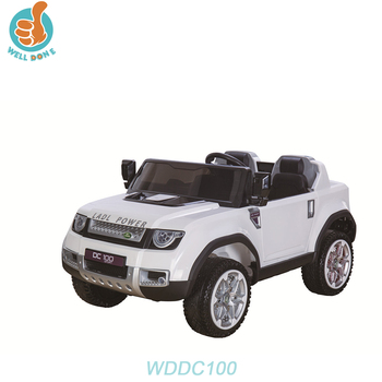 WDDC100 RC New Two Motor Children Electric Baby Ride On Car For Kids/Play Games Car Online