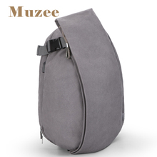 Muzee China Factory Designer Bag Minimalist Cotton Canvas USB Charging Backpacks Laptop Shoulder Bags Rucksack for Men