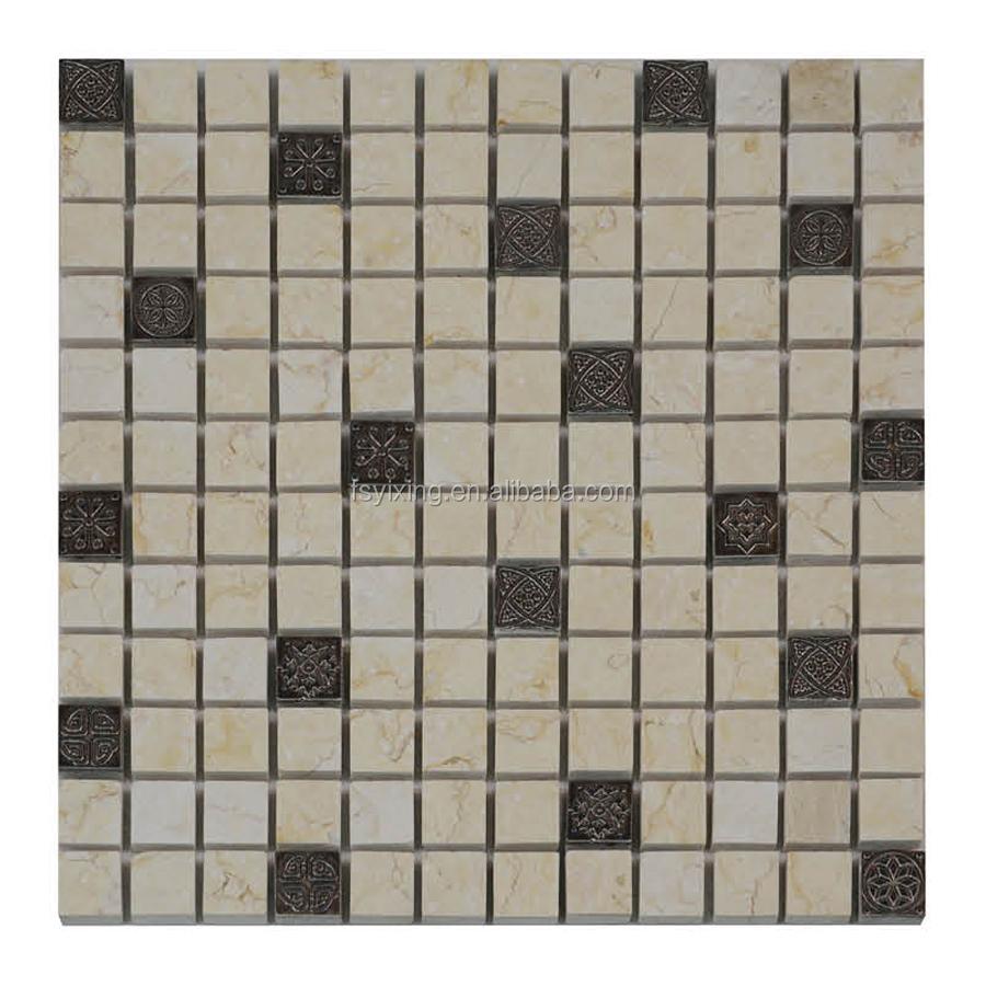 Hot Sale Cube 3d Mosaic Tile Decorative Wall - Buy Cube 3d Mosaic ...