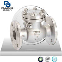 Flange Type API swing Stainless Steel check valve