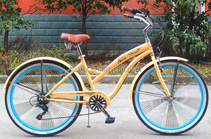 6 Speed Ladies Beach Cruiser Bike For Sale