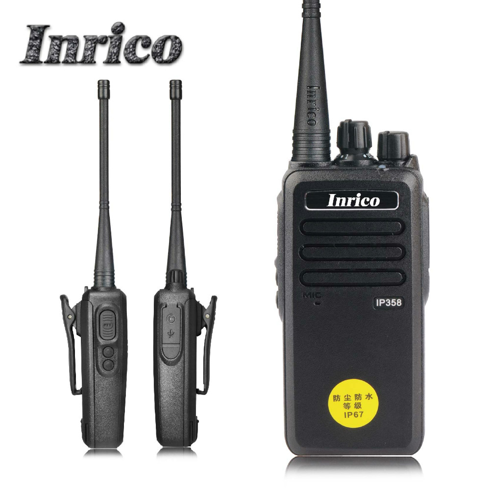 8w professional IP358 two way radio with CTCCS/CDCCS