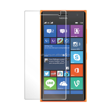 Japan material Manufactuer high clear Tempered-glass screen protector for Nokia Lumia 730 ,Customized Package Availab