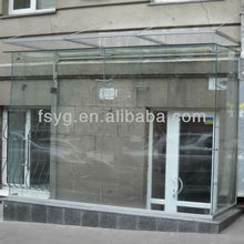 Exterior Toughened Glass Door YG-S053