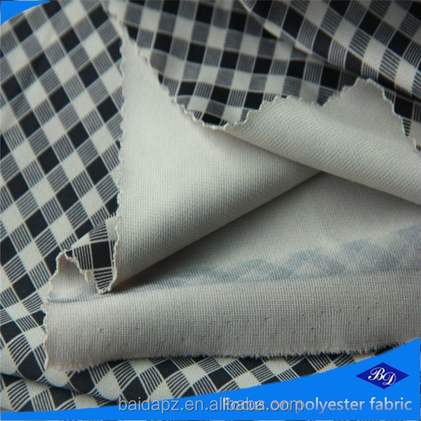 polyester spandex print fabric/92% polyester 8% spandex fabric/polyester viscose spandex fabric