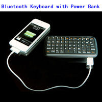 2013 New Mini External Keyboards With 4000Mah Built-In Power Bank