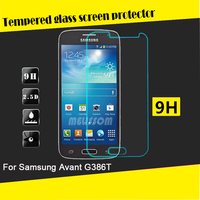 Factory wholesale tempered glass screen guard for Samsung Galaxy Avant G386T tempered glass screen guard