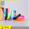 China supplier custom logo printed gifts silicone wristband