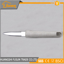 Stainless steel Double Serrated Fishing Fillet knife With Cereal Fiber Handle