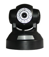 wireless ip camera 300K pixels CMOS sensor Support mobile phone built in PTZ and MIC built inaudio out socket AB-IP6100W