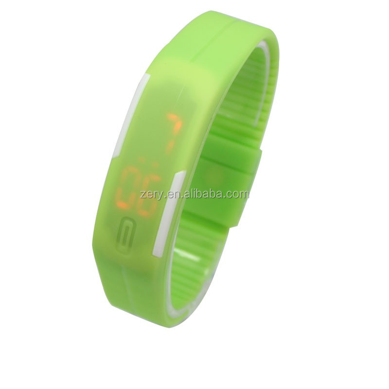 R0775 cheap led design your own digital watch, candy watch