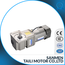 ac right angle geared motor solid type 104mm type 180w-300w