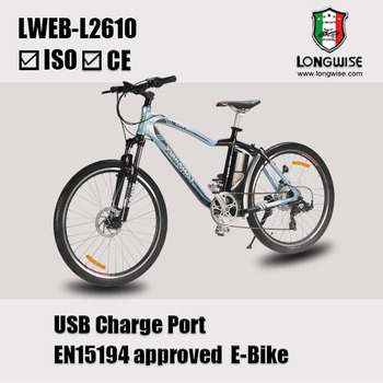 "EN15194 approved 26"" electric mountain bike for sale"