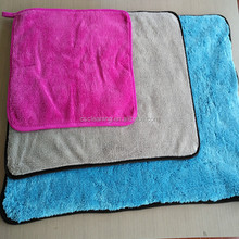 16''*16'' Microfiber ultra thick plush car cleaning towels buffing cloth car drying polish aoto