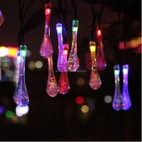 20 LED 5M led solar light leds solar lamps garden outdoor garland lights solar christmas solar lanterns