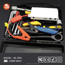2017 Newly Polymer Multi-functional Car Jump Starter Power Bank Hot Sales