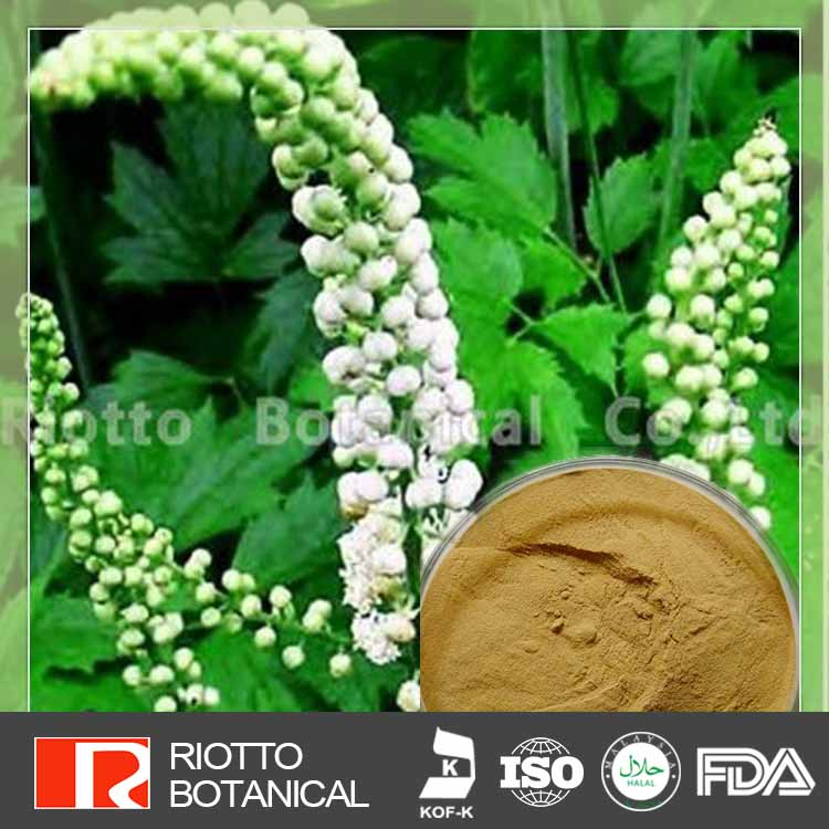 100% Pure Organic black cohosh root extract