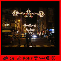 Holiday Street Light Decoration for Christmas/12v Skyline Led Christmas Light/Led Swag Light Decoration