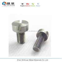 M2 Titanium Cylindrical Head Slotted Screw