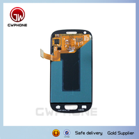 Factory supply mobile phone LCD for samsung galaxy s3 i9300 lcd touch screen display assembly