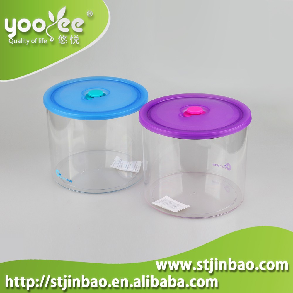 Clear Transparent Airtight Canister Container