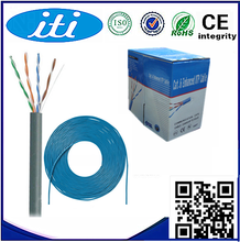 Hot Selling High Quality Best price fluke tested flat utp cat 5 lan cable