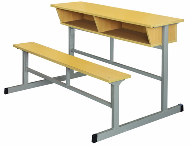 Melamine Cheap School Furniture Used School Desk With