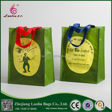 High Quality Promotional Recycled Laminated PP Woven Shopping Bag