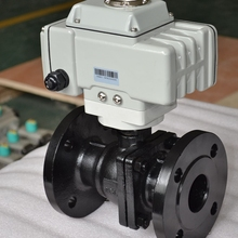 wcb flange electric water valve flow control