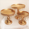 Factory Wholesale 3 Tier Metal White Round Wedding Cake Stand