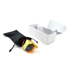 High quality Microfiber glasses cloth/pouch/Square cardboard box for sunglasses